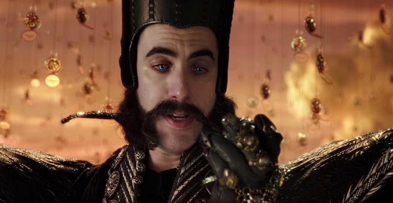 Sacha baron cohen interpreta Tempo in Alice attraverso lo specchio