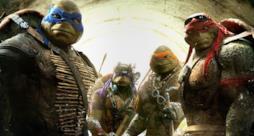 Le Tartarughe Ninja nel film del 2014