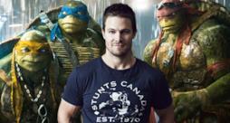 Stephen Amell con le Tartarughe Ninja nel sequel!