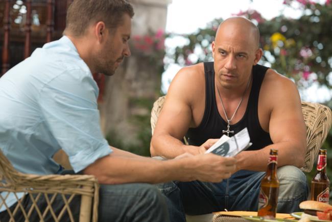 Paul Walker e Vin Diesel in Fast and Furious