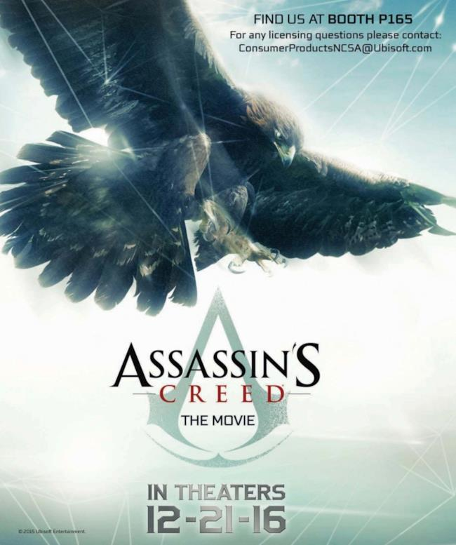 Il poster ufficiale del film live-action di Assassin's Creed