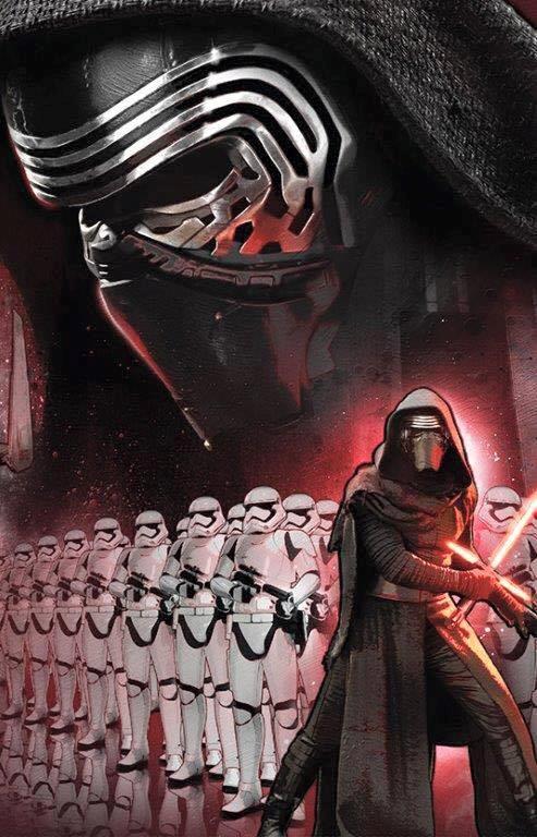 Poster ufficiale di Star Wars: Il Risveglio della Forza