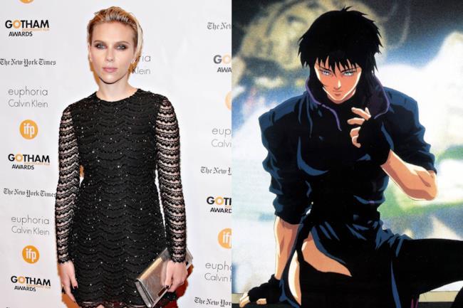 Scarlett Johansson e Motoko Kusanagi