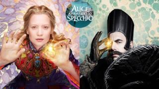 Alice e Tempo, nuovo personaggio di Alice attraverso lo specchio