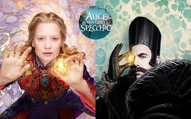 Alice attraverso lo specchio guarda il trailer e i - Alice e lo specchio ...