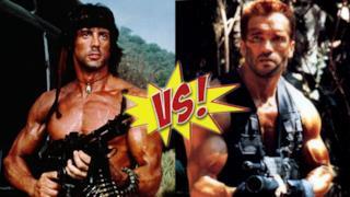 Guarda tutte le uccisioni di Stallone e Schwarzenegger in due cruenti video!