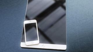concept di iPad Pro con iPhone