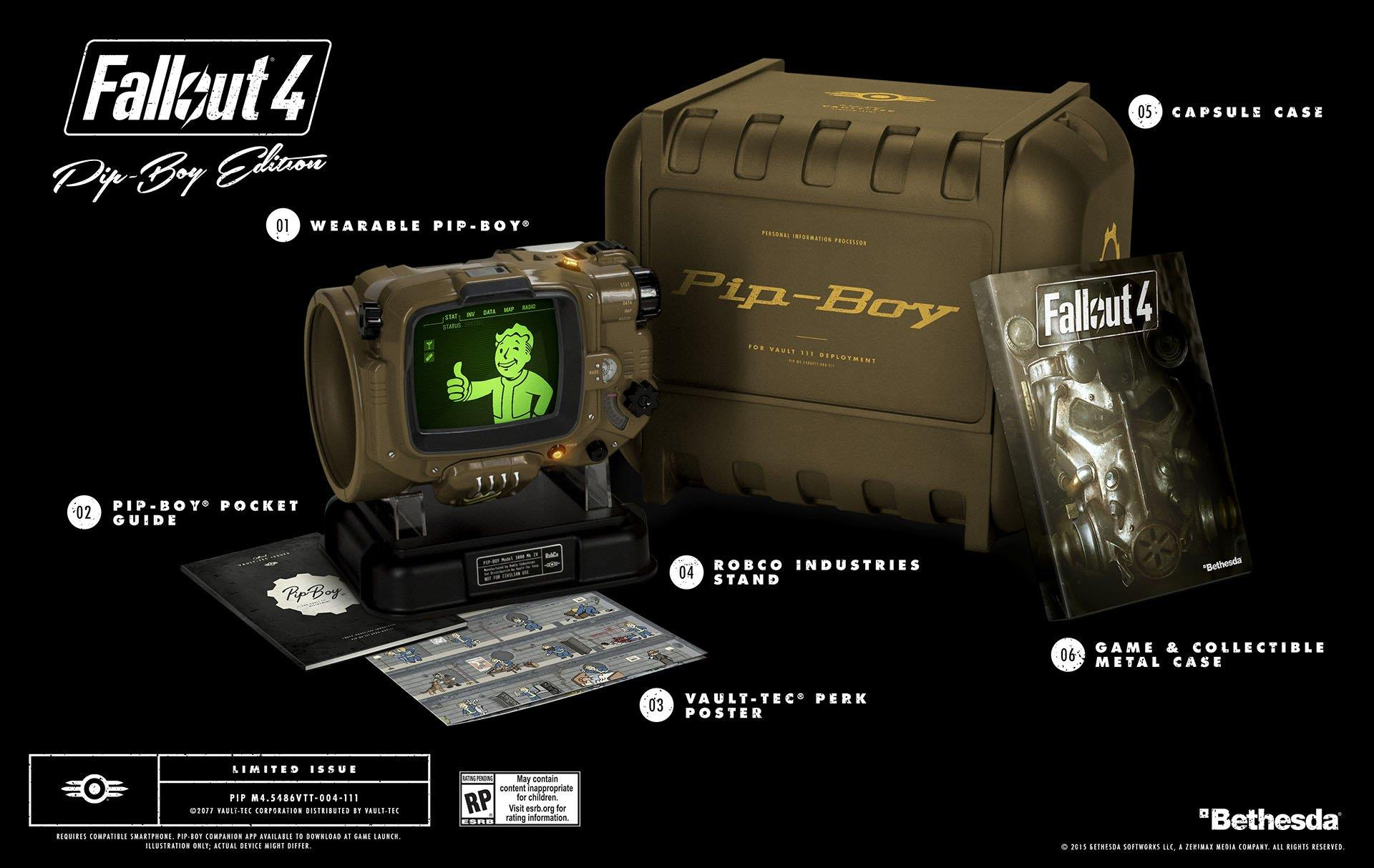 LaPip-Boy Edition di Fallout 4