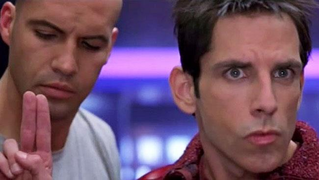 Ben Stiller e Billy Zane in una scena di Zoolander