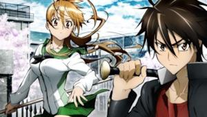 Takashi Komuro e Rei Miyamoto, protagonisti di Highschool of the dead