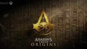 Il logo di Assassin's Creed: Origins