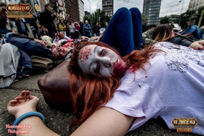 Prima edizione della Zombie Walk di Milano