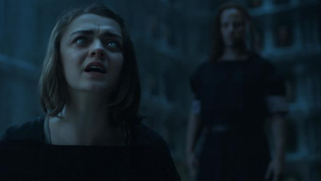 Arya Star nel finale di stagione di Game of Thrones