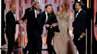 Leonardo Di Caprio tra i  vincitori dei Golden Globe Awards 2016