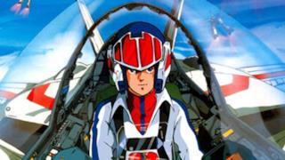 Una scena dell'anime originale di Robotech