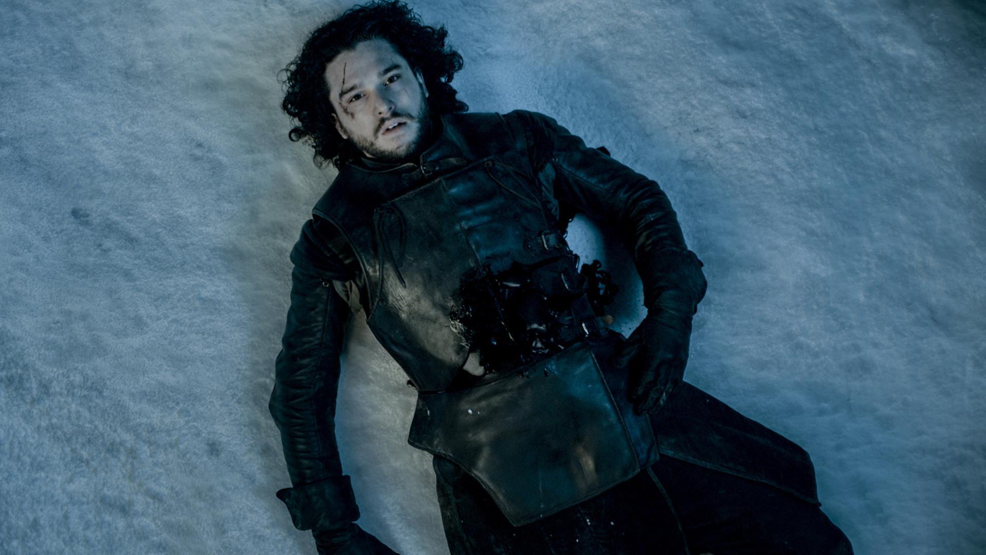 Jon Snow in fin di vita nel finale della quinta stagione