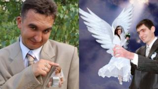 Foto divertenti ed inquietanti di matrimoni russi