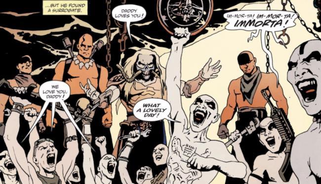 Immagine dal fumetto di Mad Max: Fury Road