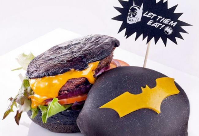 Il burger ispirato a Batman