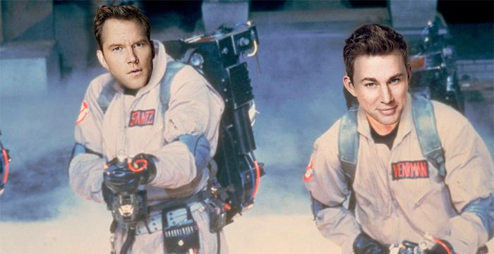 Chris Pratt E Channing Tatum dei panni dei Ghostbusters