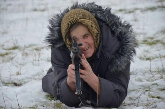 Ekaterina Bilyik prende la mira