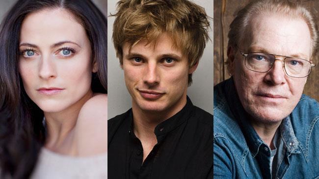 Lara Pulver, Bradley James e Peter Andersson nel cast di Underwold 5