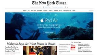 Campagna Apple nel posto sbagliato dopo il disastro del jet in Malesia