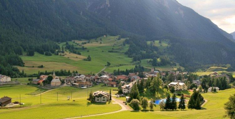 Il villaggio di Bergün
