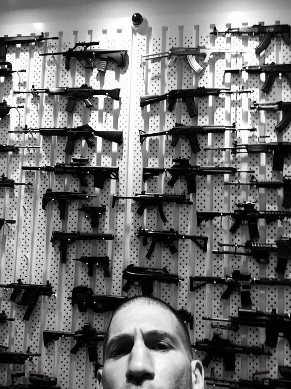 L'arsenale del Punisher nella seconda stagione di Daredevil