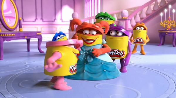 Personaggi delle pubblicità Play-Doh