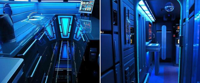L'appartamento a tema Star Trek