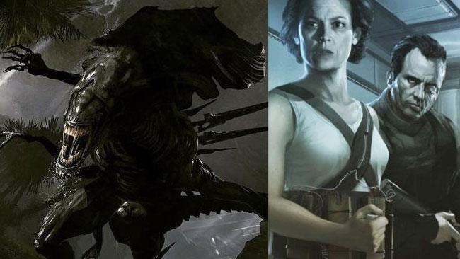 Concept art di Neill Blomkamp per il suo Alien