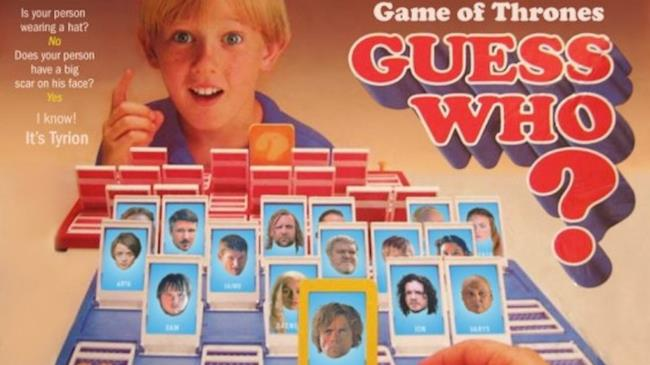 Il gioco Indovina Chi? declinato per Game of Thrones