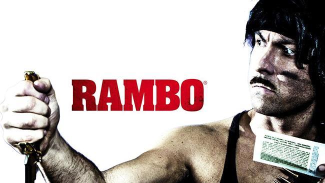 Maccio Capatonda gioca a fare Rambo nel nuovo spot di Infinity TV