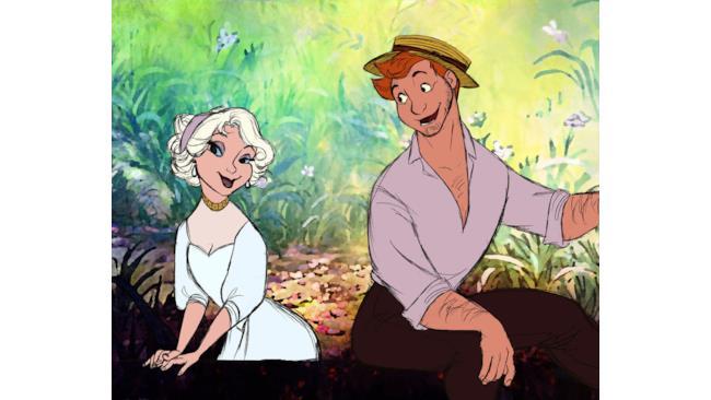 Duchessa e Romeo in versione umana immaginati da s0alaina