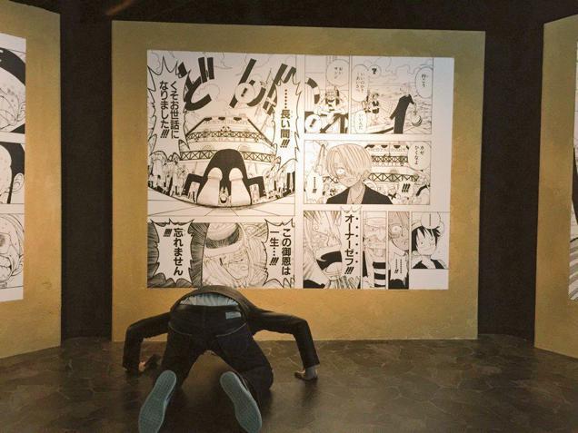 Tavole di Eiichiro Oda in esposizione alla Tokyo One Piece Tower