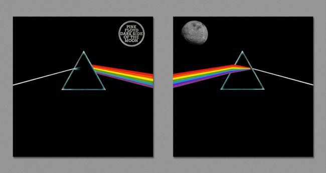 retro della copertina di The Dark Side of The Moon