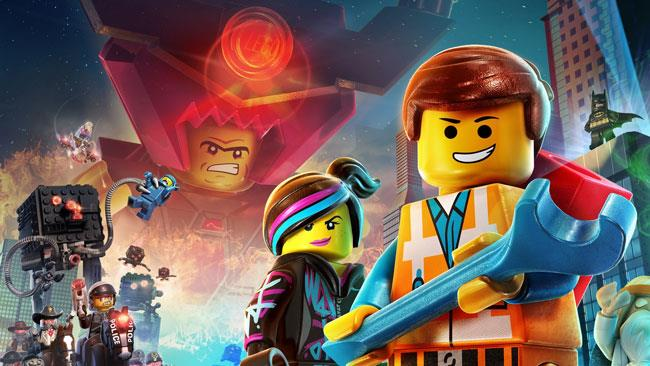 Un poster promozionale di The LEGO Movie
