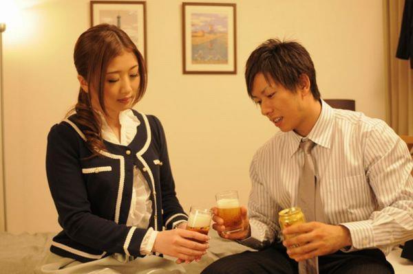 Shimiken con un'attrice