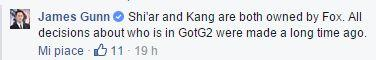 Kang non apparirà nei film dell'universo cinematografico Marvel