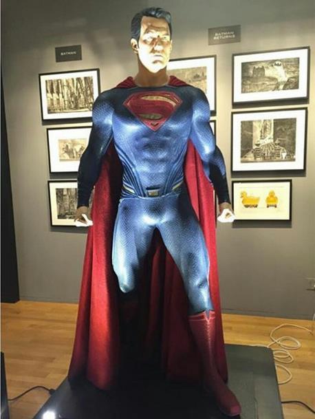 Il costume di Superman in Dawn of Justice