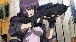 Motoko Kusanagi nell'anime Ghost in the Shell