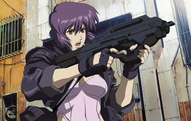 Motoko Kusanagi nell'anime Ghost in the Shell