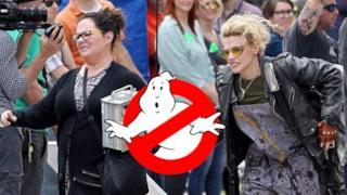 Prime foto dal set di Ghostbusters