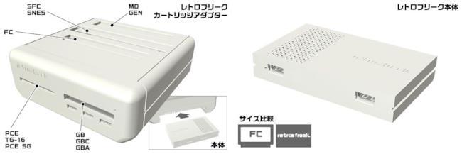 La console Retro Freak per videogiochi