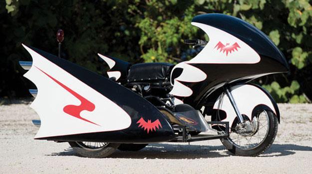La Batcycle in vendita all'asta