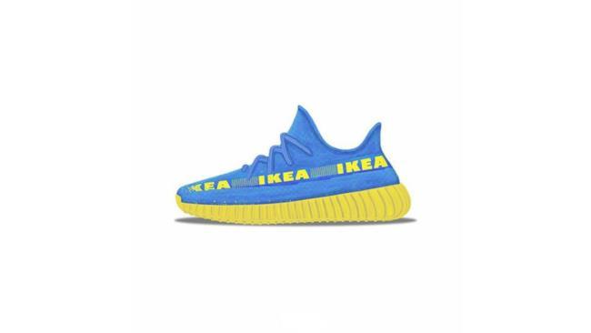 IKEA FRAKTA trasformata in un paio di sneakers