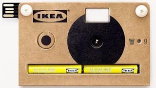 La fotocamera di cartone KNÄPPA by IKEA