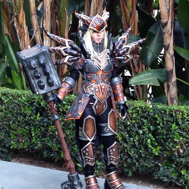 Cosplayer di World of Warcraft