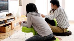 gamer seduti sulla sedia Buddy